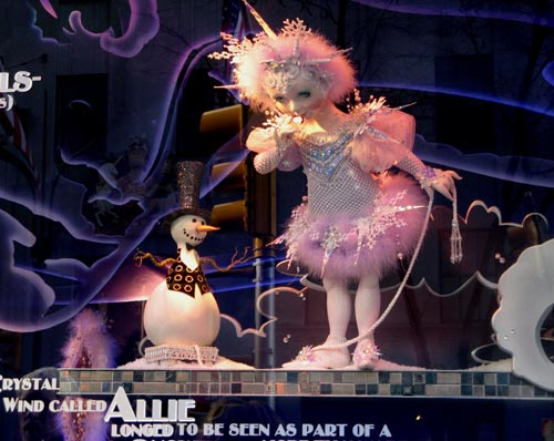Saks Christmas Window