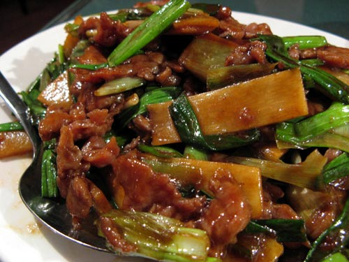 Beef and Scallions