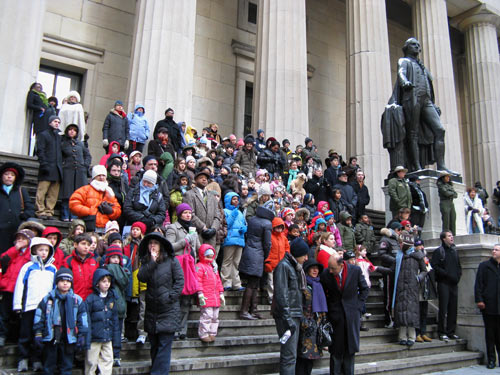 Federal Hall steps